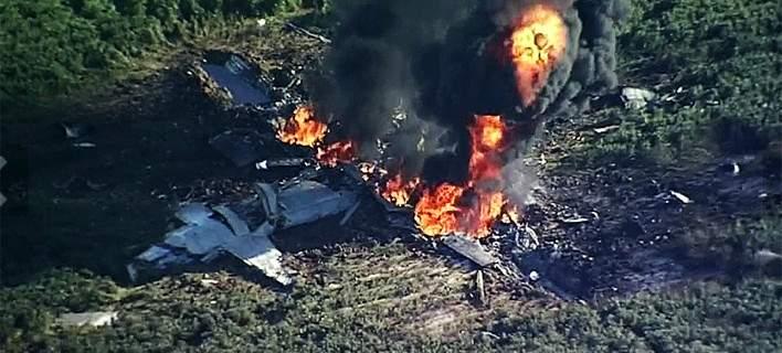 Αεροσκάφος συνετρίβη κατά την προσγείωση στην Ουαλία
