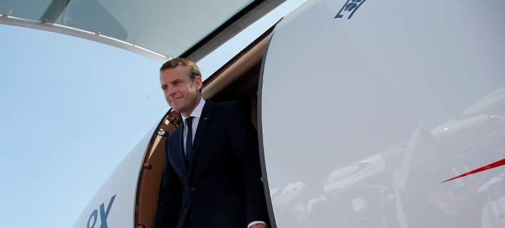 Στην Αθήνα ο Γάλλος Πρόεδρος Εμανουέλ Μακρόν [εικόνες]