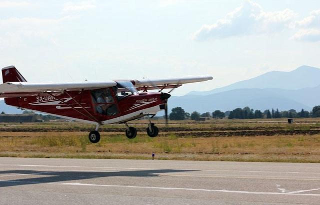 Το Πανελλήνιο Κύπελλο Υπερελαφρών Αεροσκαφών στην 111 Π.Μ. Ν. Αγχιάλου