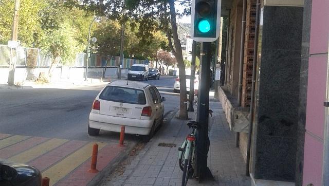 Μόνιμο παράνομο παρκάρισμα