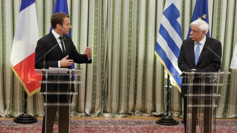 Μακρόν: Χαιρετίζω τις μεταρρυθμίσεις στην Ελλάδα