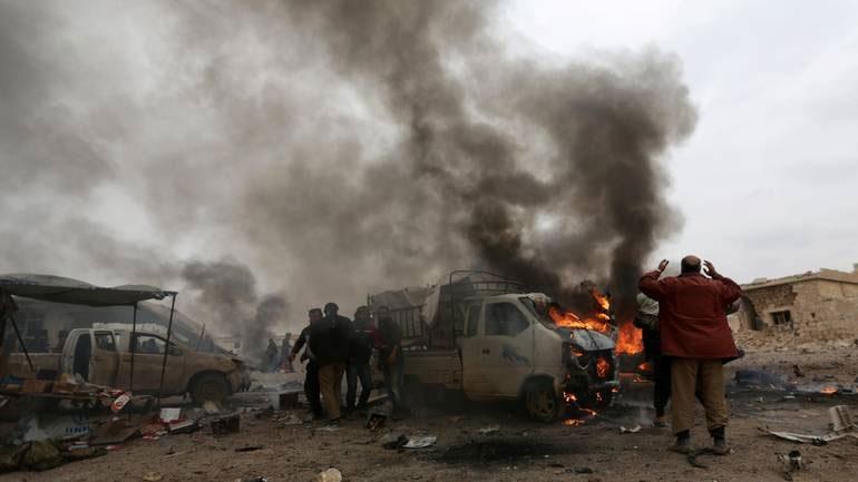 Συρία: Πολλά ηγετικά στελέχη του ΙΚ σκοτώθηκαν κοντά στη Ντέιρ αλ Ζορ