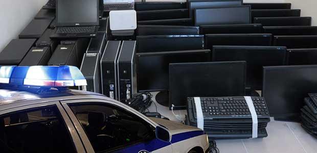 Μίνι καζίνο, ίντερνετ καφέ του Βόλου. 10 συλλήψεις