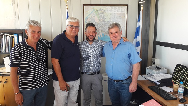 Συνάντηση κλιμακίου του ΣΥΡΙΖΑ με τον Διευθυντή Β/θμιας Εκπαίδευσης