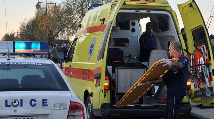 Τροχαίο με έναν νεκρό και 4 βαριά τραυματίες στα Τρίκαλα [photos]