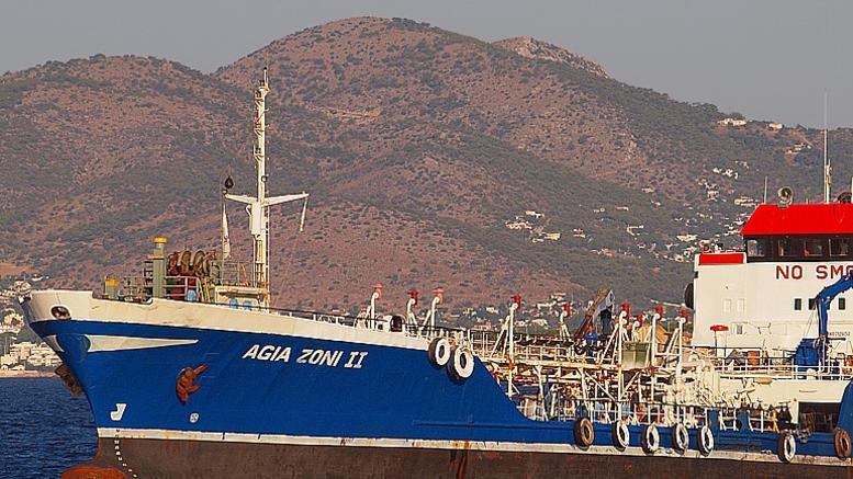 Mε 2.570 τόνους καύσιμα βυθίστηκε το Αγ. Ζώνη ΙΙ