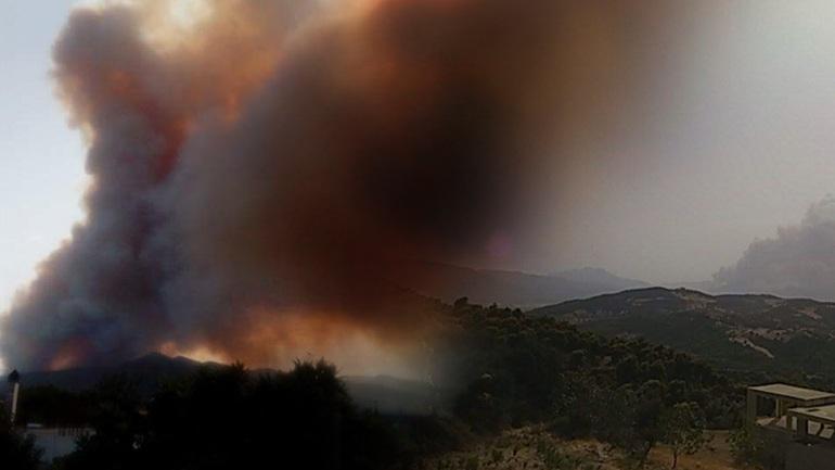 Διαταγή εκκένωσης οικισμών στη Δυτική Αχαΐα