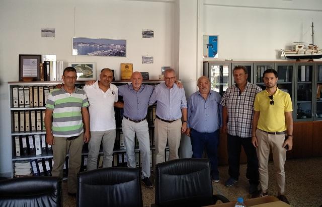 Στον ΟΛΒ αντιπροσωπεία της Ομοσπονδίας Υπαλλήλων Λιμένων Ελλάδος
