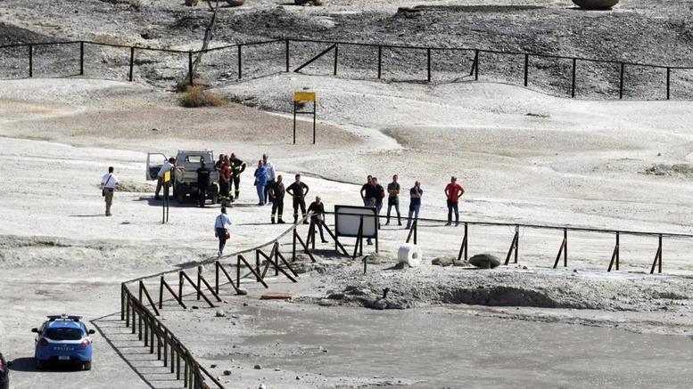 Ξεκληρίστηκε οικογένεια μέσα σε ηφαίστειο στην Ιταλία