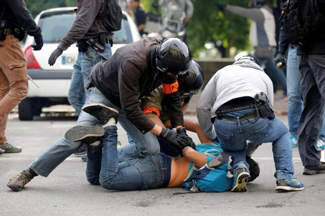 Σοβαρά επεισόδια στις διαδηλώσεις στην Γαλλία