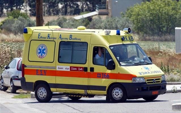 Σοβαρά τραυματίστηκε ποδηλάτισσα στη Λάρισα