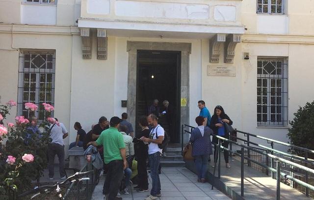 Συγκέντρωση στα Δικαστήρια κατά των πλειστηριασμών
