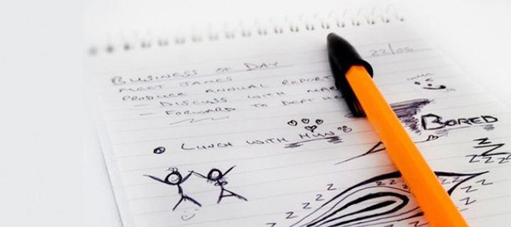 Κάνετε σχέδια στο χαρτί χωρίς να το σκέφτεστε; Τι δείχνουν για την ψυχική υγεία