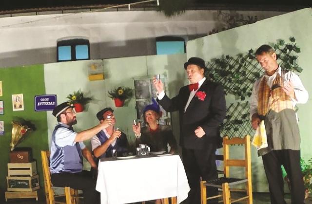 «Ο Μπακαλόγατος» απόψε επί σκηνής για καλό σκοπό
