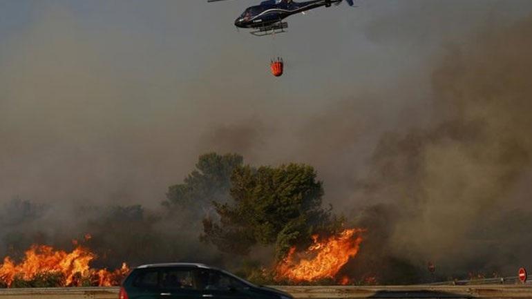 Την ευθύνη για πολλές πυρκαγιές στη Μασσαλία ανέλαβε 14χρονος