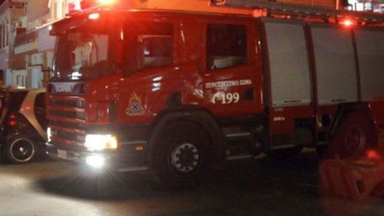Πυρκαγιά σε διαμέρισμα στη Λάρισα