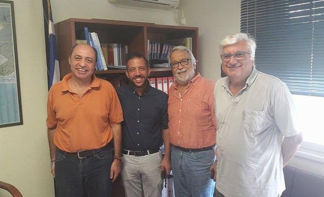 Επίσκεψη αντιπροσωπείας του ΣΥΡΙΖΑ Μαγνησίας στην Διεύθυνση Πρωτοβάθμιας Εκπαίδευσης
