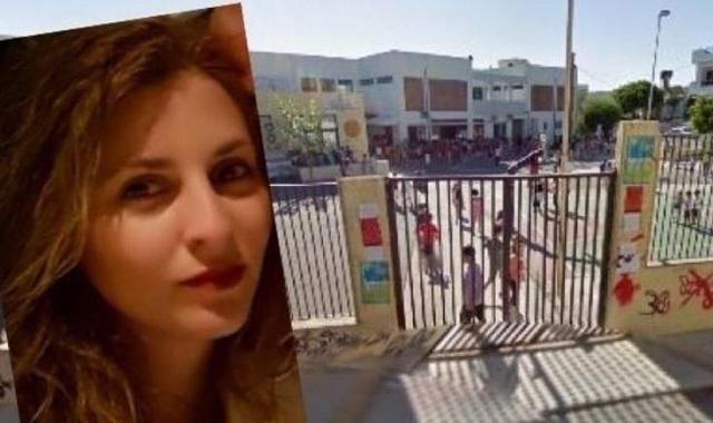 Θρήνος στην κηδεία της 33χρονης που πέθανε στο σχολείο των παιδιών της