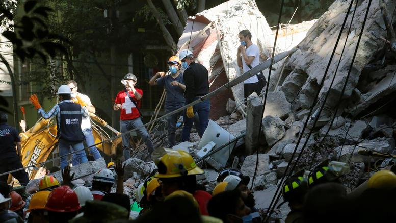 Τουλάχιστον 248 νεκροί από τα φονικά 7,1 Ρίχτερ στο Μεξικό