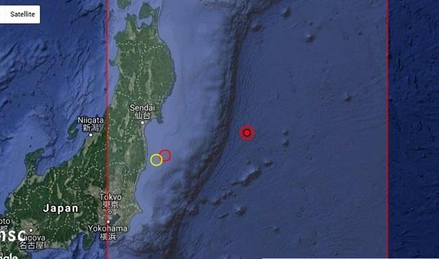 Σεισμική δόνηση 6,1 Ρίχτερ στην Ιαπωνία