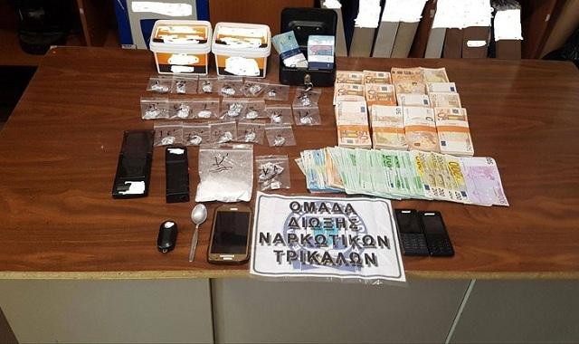 Στον ανακριτή σήμερα ο 43χρονος επιχειρηματίας που συνελήφθη με κοκαΐνη στα Τρίκαλα
