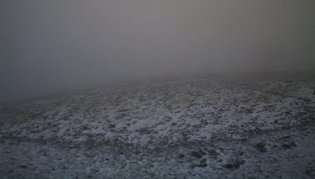 Επεσε το πρώτο χιόνι στον Όλυμπο