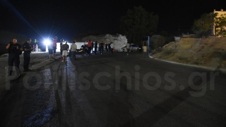 Άγρια συμπλοκή με μαχαίρια στη Χίο. Δύο μετανάστες τραυματίες