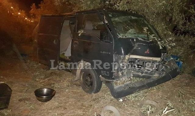 Δυστύχημα στη Στυλίδα με νεκρό 55χρονο πατέρα 4 παιδιών