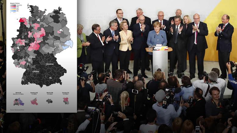 Η «ακτινογραφία» της ψήφου: Ποιοι ψήφισαν Μέρκελ- ποιοι AfD