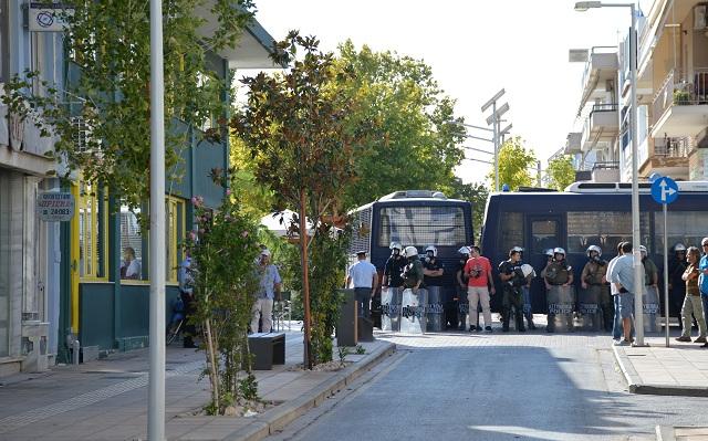 Οι έμποροι του Αλμυρού συγχαίρουν την Αστυνομία