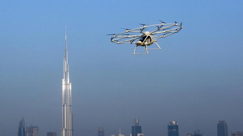 Το ιπτάμενο ταξί είναι πραγματικότητα στο Ντουμπάι [εικόνες]