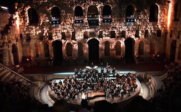 Μουσική βραδιά στο Ηρώδειο