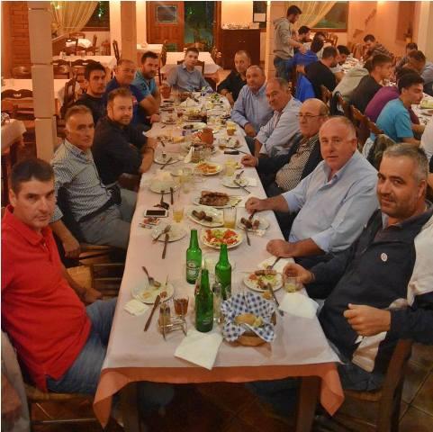 Νέες φανέλες και δείπνο πριν το ξεκίνημα του Ρήγα…