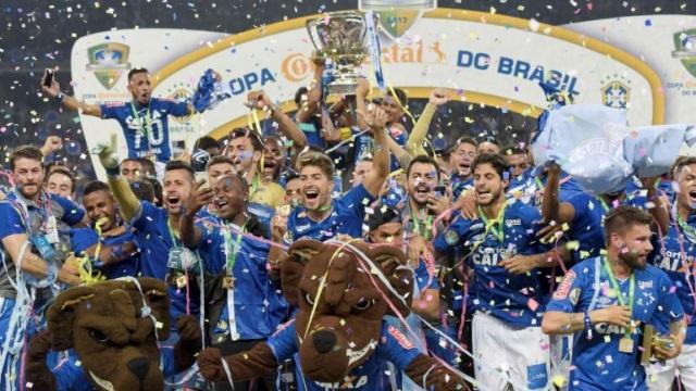 Η Κρουζέιρο κατέκτησε το κύπελλο στη Βραζιλία
