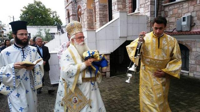 Λαμπρά τα εγκαίνια της Ευαγγελιστρίας Αλμυρού