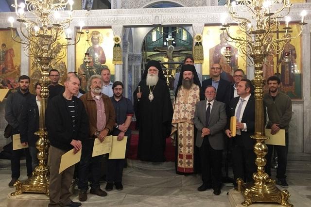 Οι ιεροψάλτες τίμησαν τον Προστάτη τους Όσιο Ιωάννη τον Κουκουζέλη