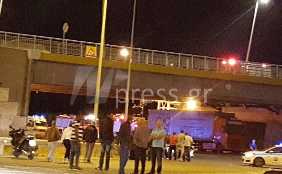 Νεαρός βρέθηκε κρεμασμένος από τη γέφυρα Ρίου-Αντίρριου