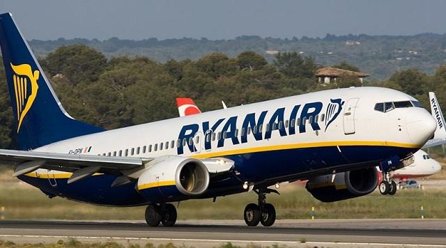 Άλλαξε πορεία πτήση της Ryanair πάνω από το Λονδίνο