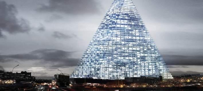 Πύργος από γυαλί ύψους 180μ. χτίζεται στο Παρίσι. Ενα τεράστιο έργο που προκαλεί αντιδράσεις