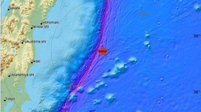 Ισχυρός σεισμός 6 Ρίχτερ στην Ιαπωνία