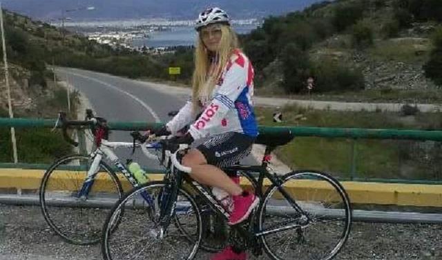 Ποδηλατοδρομία Ελπίδας από την Βολιώτισσα Βασιλική Καλούτσα