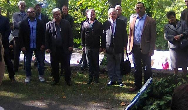 Ο Αλ. Μεϊκόπουλος στην εκδήλωση μνήμης στις Μηλιές