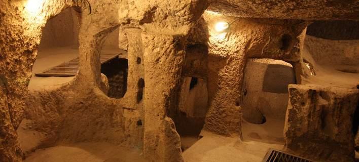 Η θαυμαστή υπόγεια αρχαία πόλη της Τουρκίας των 18 ορόφων. Με ναούς, ελαιοτριβεία, στάβλους
