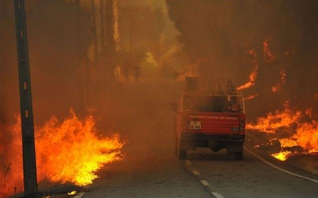 Πορτογαλία: Στο έλεος των πυρκαγιών εκ νέου η χώρα