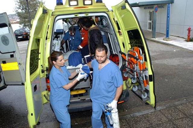Στο νοσοκομείο Λάρισας 35χρονη καθαρίστρια. Έπεσε από ύψος στο Μύλο του Παππά