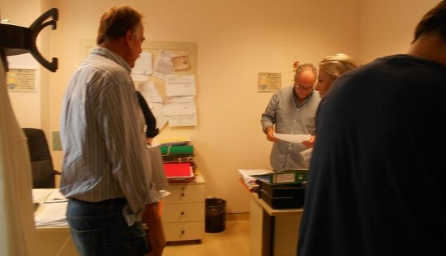 Περιοδεία κλιμακίου του ΚΚΕ στο Νοσοκομείο Βόλου