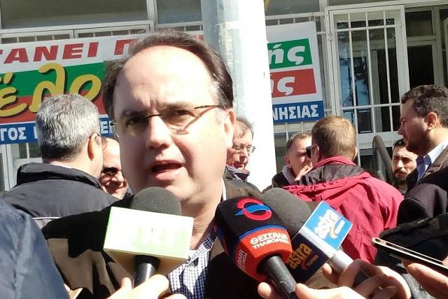 Κάλεσμα Μπασδάνη σε Πλαστάρα για συμπόρευση στις εκλογές