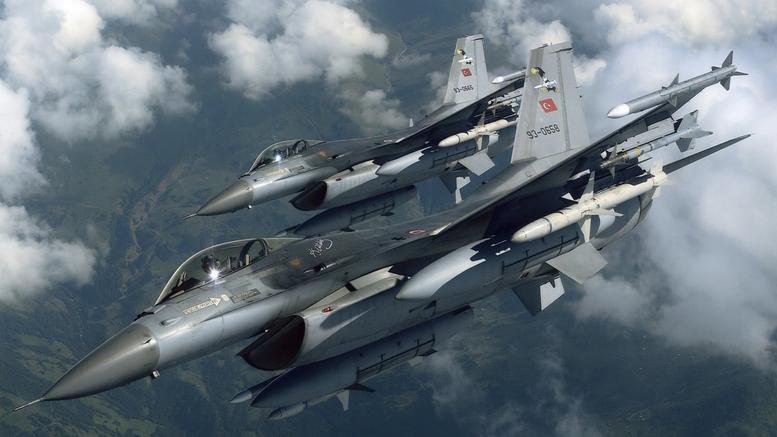 Εικονικές αερομαχίες με τουρκικά F-16 ανατολικά της Ρόδου