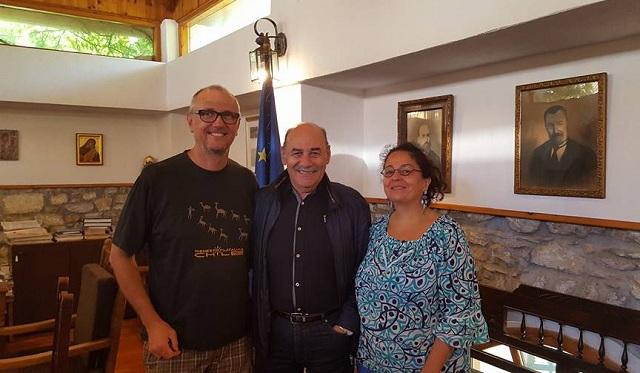 Ιταλοί δημοσιογράφοι επισκέφθηκαν τη Σκιάθο
