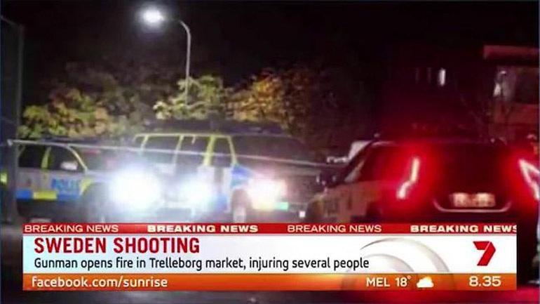 Πυροβολισμοί στο κέντρο πόλης στην Σουηδία